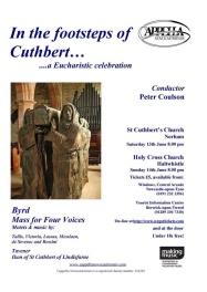 Publicity poster for concert 13 June 2009