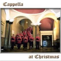 front cover of Cappella's first CD, Cappella at Chrstmas