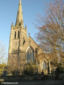 Photo of Lancaster cathedral, copyright Steve Houldsworth, venue for next concert