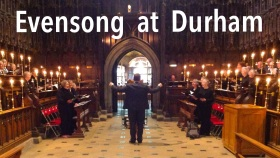 poster for 'Evensong at Durham' 1 May 2017